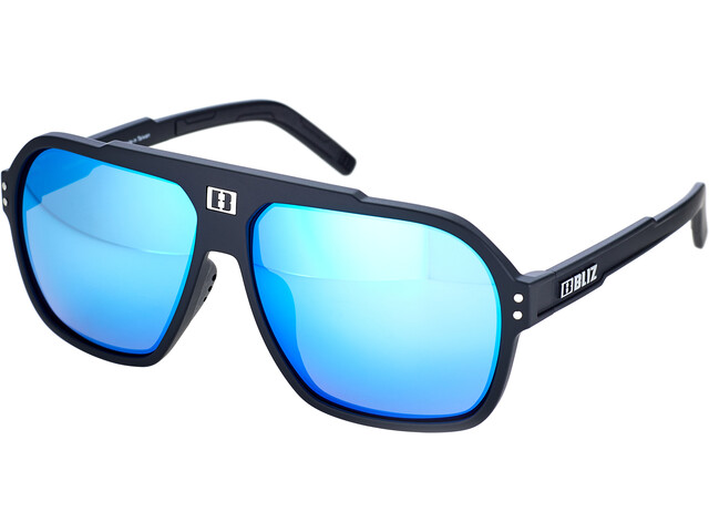 Bliz Targa Glasses matte black/smoke/blue multi